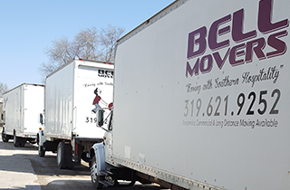 Long Distance Moving | Bell Movers | Iowa City, IA | (319) 621-9252